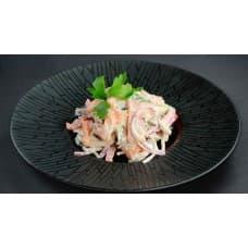заказать Салат с маринованным лососем картинка