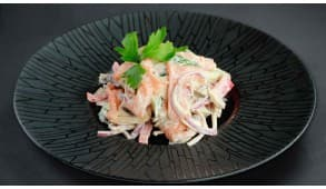 Фото - Салат с маринованным лососем - Пиццбург