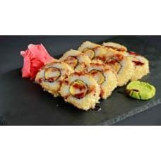 заказать Темпура ролл с тигровой креветкой и беконом картинка
