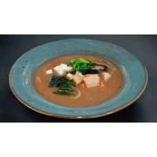 замовити Місо суп з лососем зображення