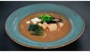 Фото - Місо суп з лососем - Піццбург