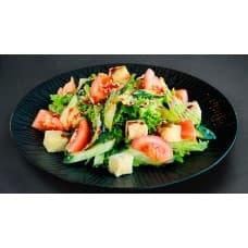 замовити Салат з овочами і сиром тофу зображення