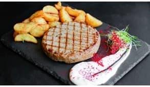 Фото - Котлета рубленая с картофелем по-селянск - Пиццбург