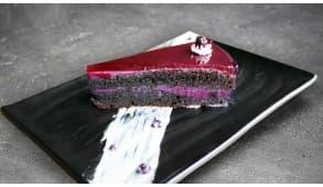 Фото - Чорнично-мусовий торт - Піццбург